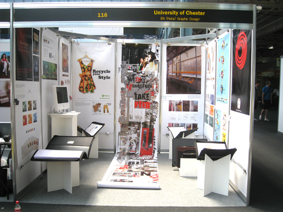 Our exhibition space.