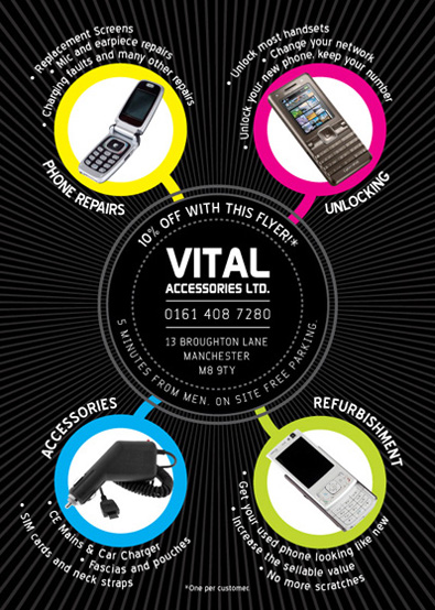 Vital Accessories flyer (Back)