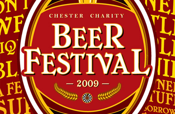 Chester Charity Beer Festival 2009 logo.