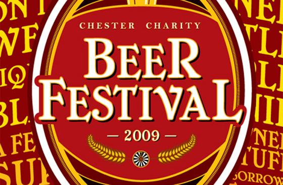 Chester Charity Beer Festival 2009 logo.